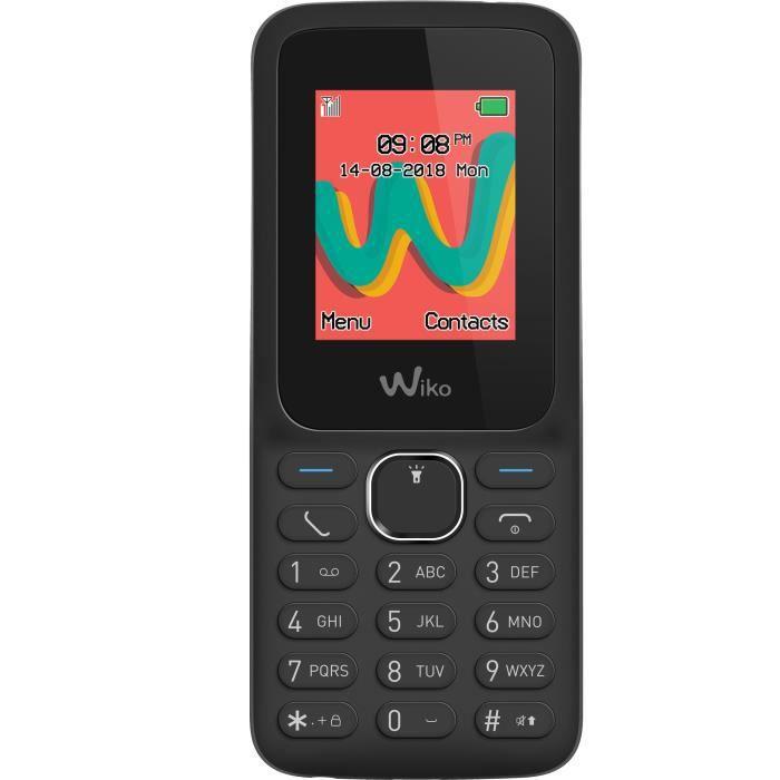 Téléphone portable WIKO Lubi5 Plus LS Noir
