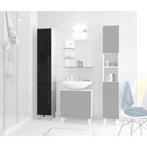 colonne pivotante salle de bains achat vente pas cher. Black Bedroom Furniture Sets. Home Design Ideas