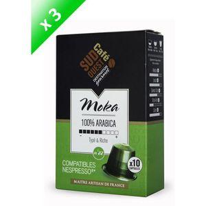 CAFÉ - CHICORÉE 30 capsules compatibles Nespresso SUD OUEST CAFE C
