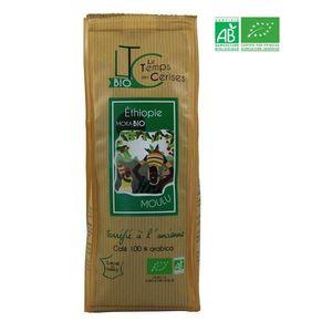 CAFÉ - CHICORÉE LE TEMPS DES CERISES Café moulu BIO Moka d'Ethiopi