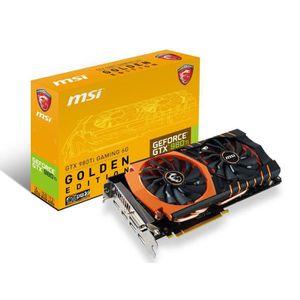 CARTE GRAPHIQUE INTERNE MSI GTX 980 Ti GAMING 6G GOLDEN EDITION