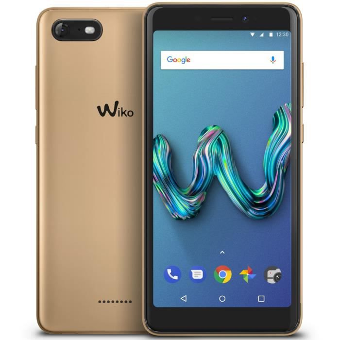 Wiko Tommy 3 Gold + coque rouge offerte - Achat smartphone pas cher ... 140c2dd0db93