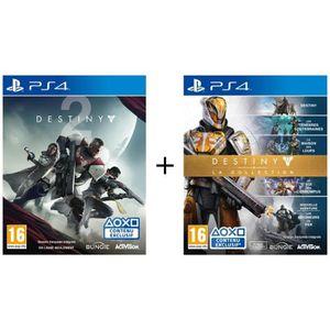 JEU PS4 Pack Destiny 2 + Destiny : La Collection Jeux PS4