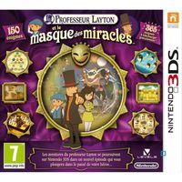 Nintendo Professeur Layton et Le Masque des Miracles - Jeu Nintendo 3DS