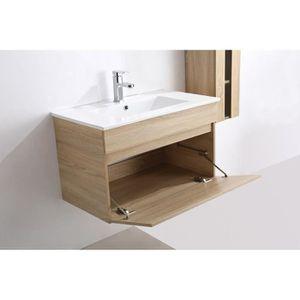 Meuble vasque a poser achat vente meuble vasque a for Ensemble meuble salle de bain 80 cm pas cher