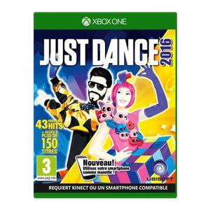 JEU XBOX ONE Just Dance 2016 - Jeu Xbox One