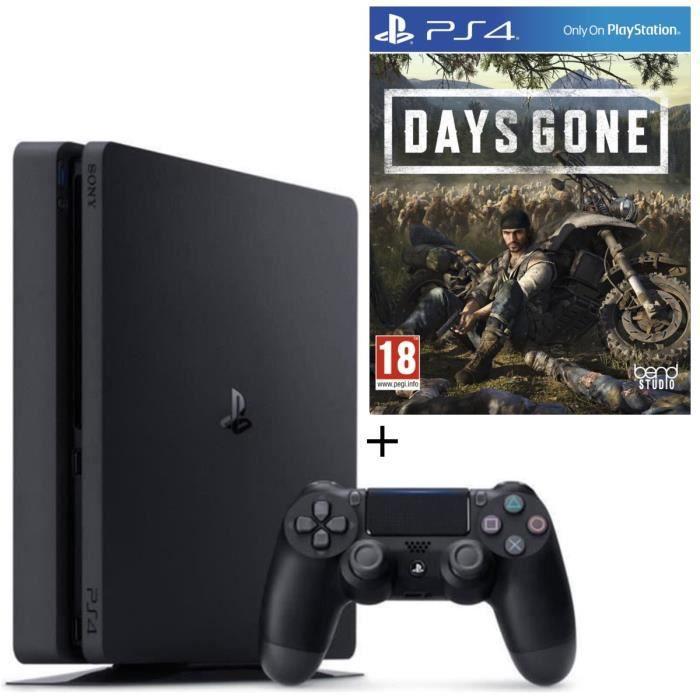 CONSOLE PS4 NOUVEAUTÉ Pack PS4 500 Go Noire  + Days Gone