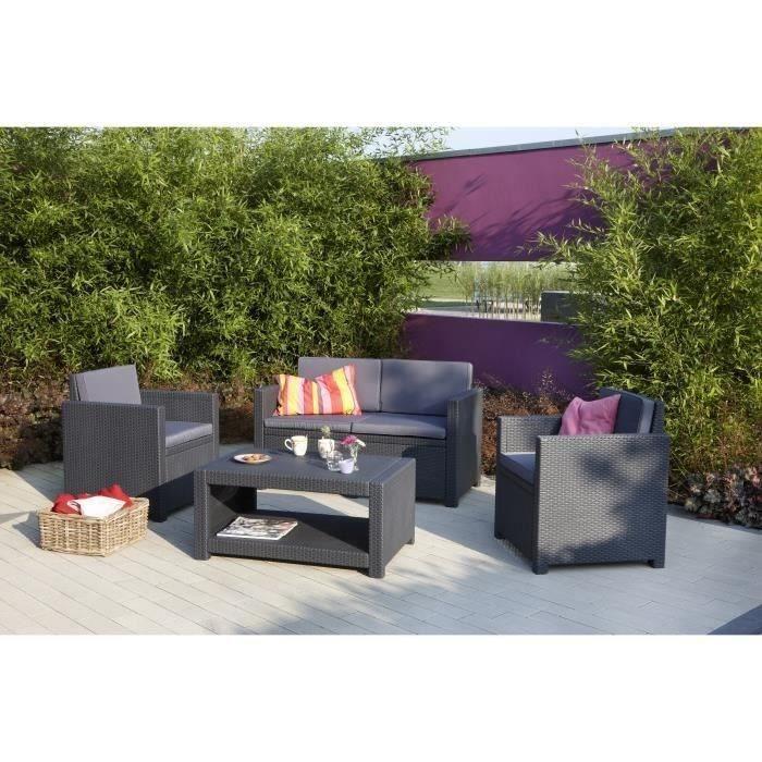 salon jardin tresse gris mobilier table janvier 2014. Black Bedroom Furniture Sets. Home Design Ideas