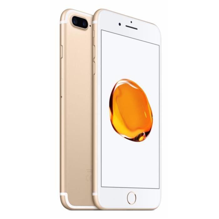 apple iphone 7 plus 128 go or achat smartphone pas cher avis et meilleur prix cdiscount. Black Bedroom Furniture Sets. Home Design Ideas