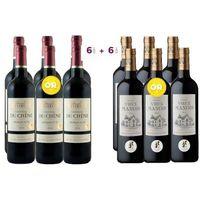 6 Château du Chêne 2014 Bordeaux ACHETEES = 6 Château Vieux Manoir 2011 Bordeaux OFFERTES - Vin rouge de Bordeaux