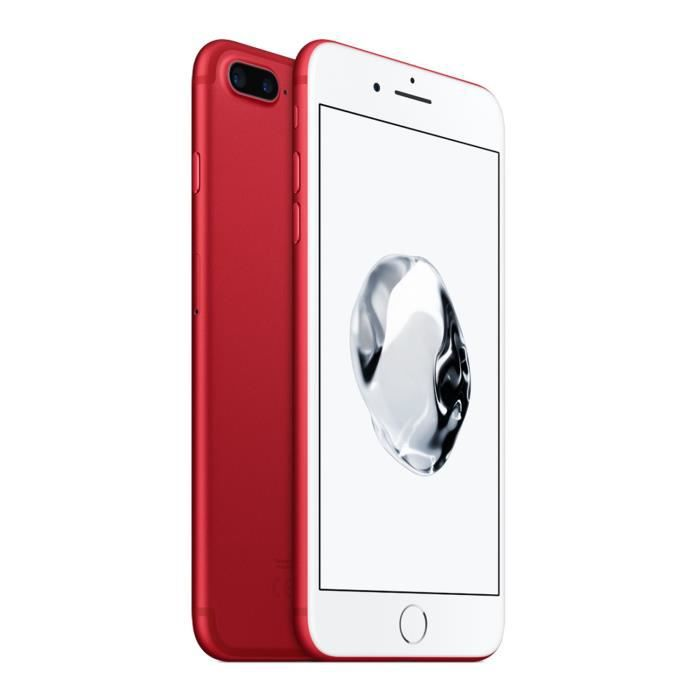 40aea59d82645 APPLE iPhone 7 Plus 256 Go Rouge Edition Special - Achat smartphone ...