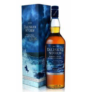 WHISKY BOURBON SCOTCH Talisker Storm - Highlands-Skye Single Malt Whisky