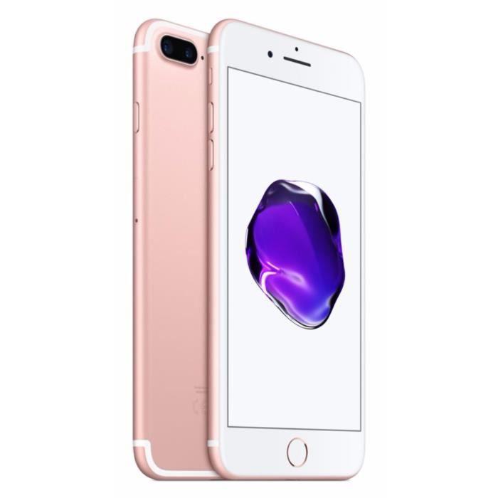 apple iphone 7 plus 32 go rose or achat smartphone pas cher avis et meilleur prix cdiscount. Black Bedroom Furniture Sets. Home Design Ideas