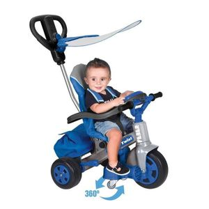 TRICYCLE FEBER - Tricycle Evolutif Baby Twist 360° 10 Pouce