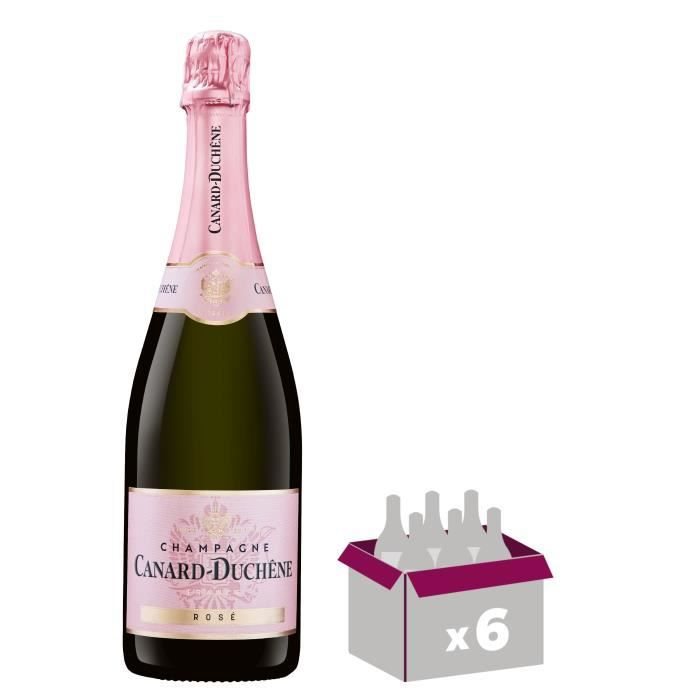 CHAMPAGNE Champagne Canard Duchêne Authentic Brut Rosé x6