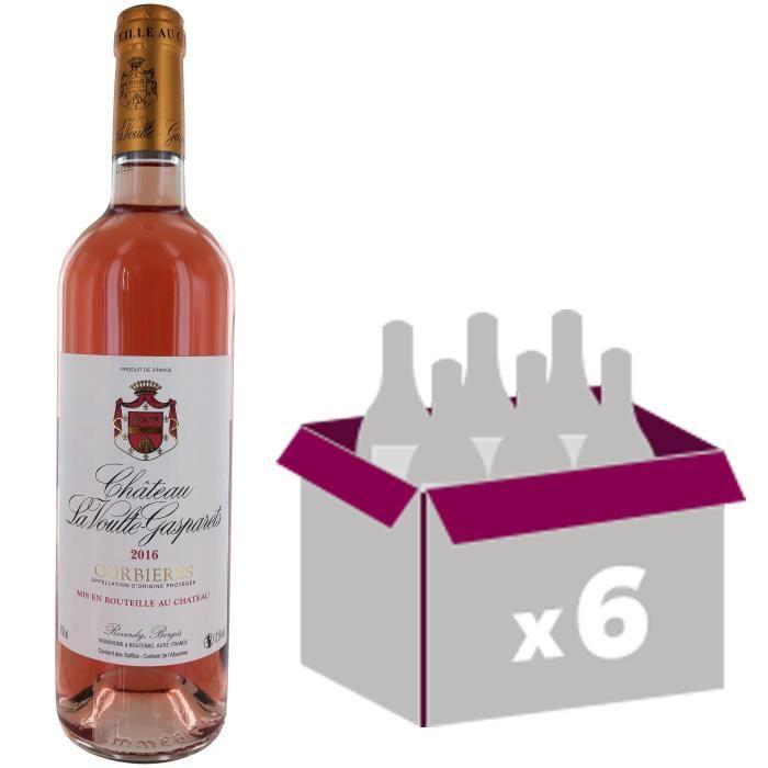 VIN ROSÉ Château La Voulte Gasparets 2016 Corbières - Vin r