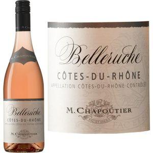VIN ROSÉ Chapoutier Belleruche AOC Côtes de Rhône 2015 - Vi