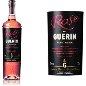 Apéritif à base de vin Pineau Guerin Rose  17° 75 cl