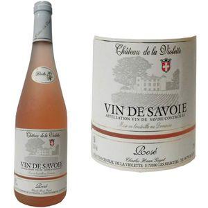 VIN ROSÉ Domaine du Château de la Violette Savoie AOC 2016