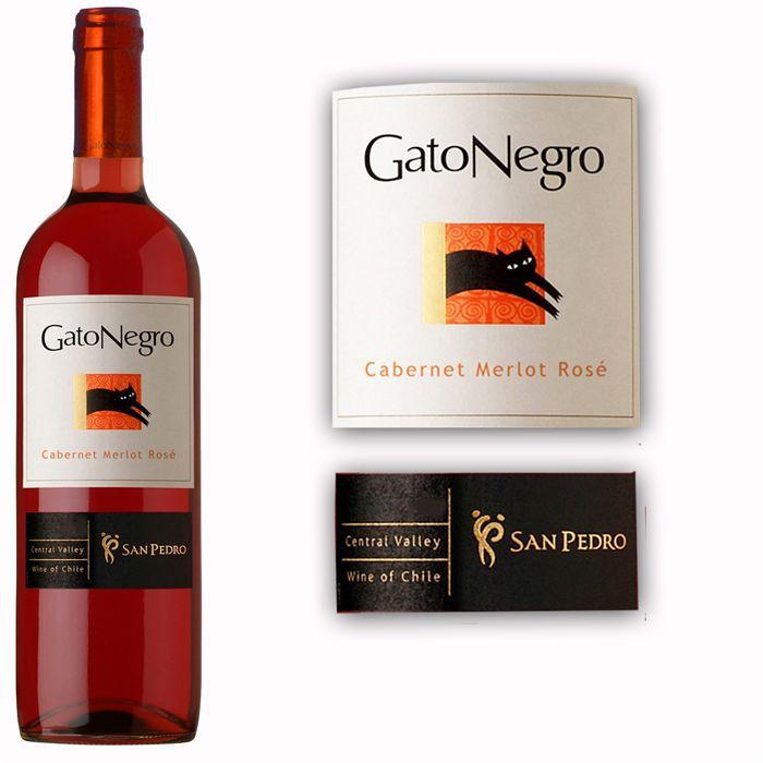 VIN ROSÉ Gato Negro rosé