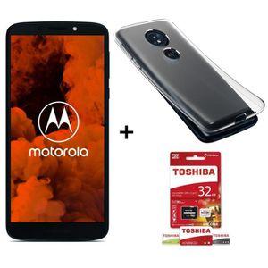 SMARTPHONE Motorola Moto G6 Play Bleu Indigo + Toshiba Micro