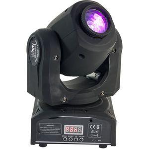 LAMPE ET SPOT DE SCÈNE PARTY LIGHT & SOUND PARTY-SPOT7 Lyre DMX à LED Bla