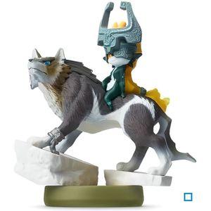 FIGURINE DE JEU Figurine Amiibo Link Loup The Legend of Zelda