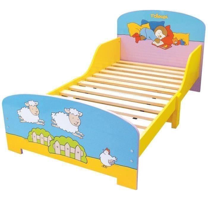 T'Choupi Pack Mobilier Pour Chambre Complète Enfant - Cijep