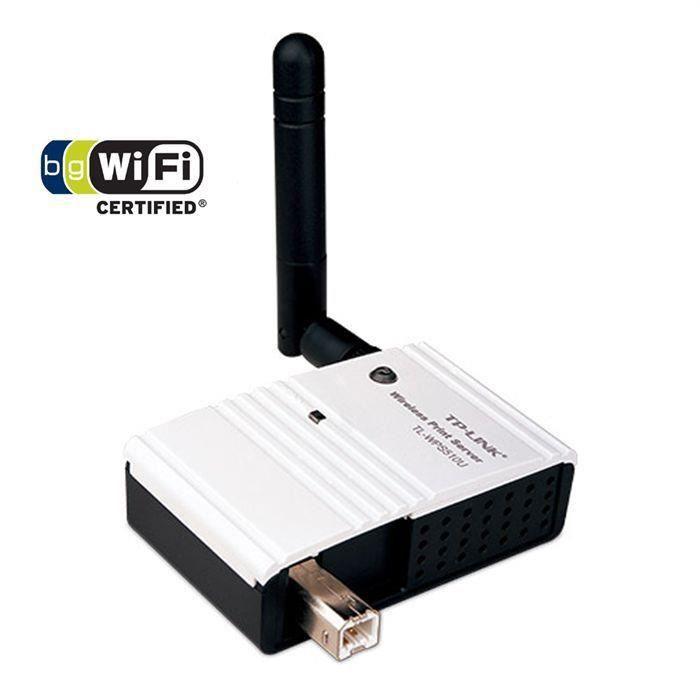 SERVEUR D'IMPRESSION TP-LINK Serveur d'impression de poche WiFi 150Mbps