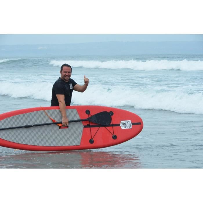 surf trip stand up paddle gonflable 10 prix pas cher cdiscount. Black Bedroom Furniture Sets. Home Design Ideas