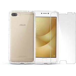 Téléphone portable ASUS Zenfone 4 Max Plus 5,5'' Gold + IBROZ coque +