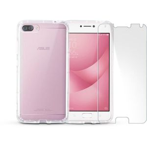 Téléphone portable ASUS Zenfone 4 Max Plus 5,5'' Pink + IBROZ coque +