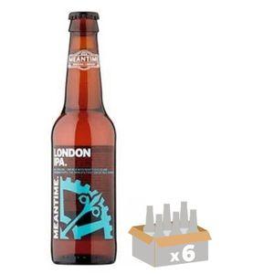 BIÈRE MEANTIME IPA Bière Ambrée 0,33 L x 6