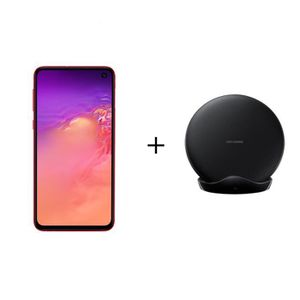 SMARTPHONE Samsung Galaxy S10+ 128 Go Rouge + PAD induction