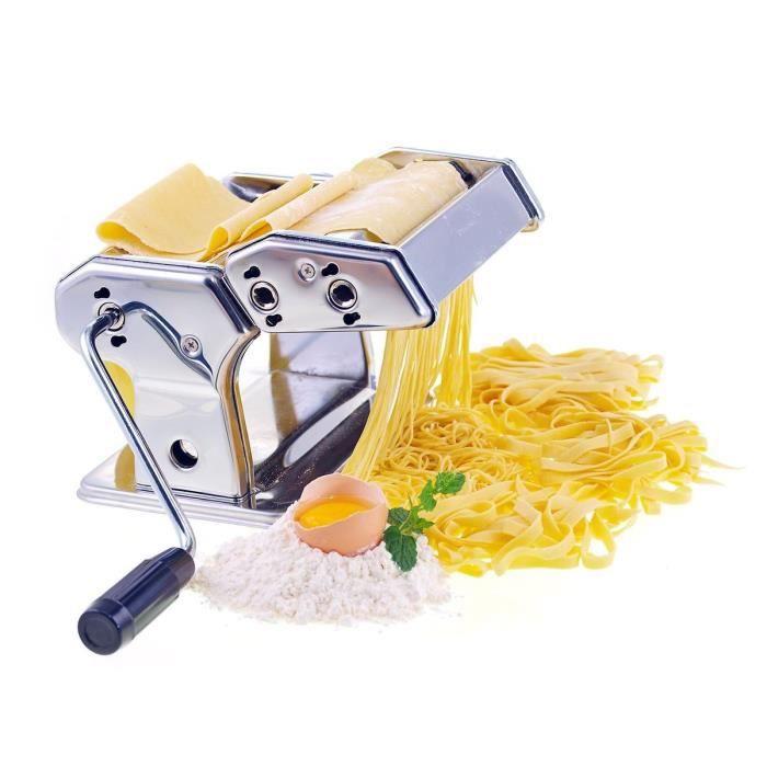 ARD'TIME Machine à pâtes pro en inox + 2 formes de découpe