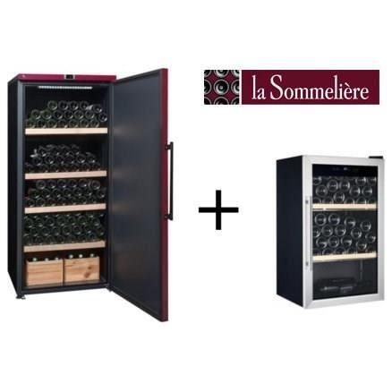 CAVE À VIN LA SOMMELIERE VIP265PCD-Cave à vin de vieillisseme