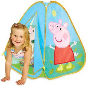 tente peppa pig achat vente jeux et jouets pas chers. Black Bedroom Furniture Sets. Home Design Ideas