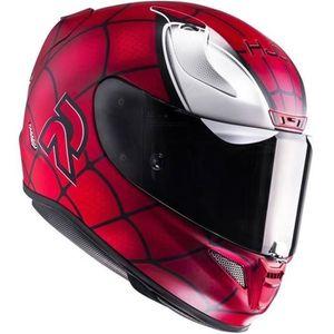 CASQUE MOTO SCOOTER HJC Casque Intégral Rpha11 Spiderman Edition Limit