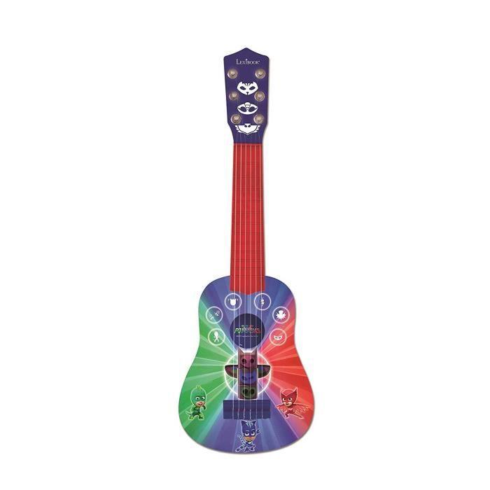 INSTRUMENT DE MUSIQUE LEXIBOOK - PYJAMASQUE - Guitare Acoustique Enfant
