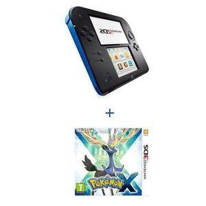 CONSOLE 2DS Console 2 DS BLEUE + POKÉMON X