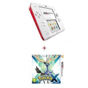 CONSOLE 2DS Console 2 DS ROUGE + POKÉMON X