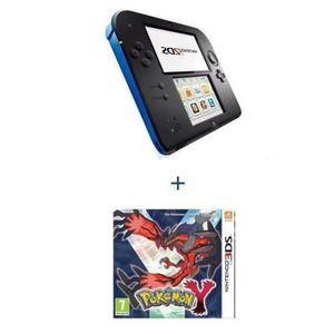 CONSOLE 2DS Console 2 DS BLEUE + POKÉMON Y
