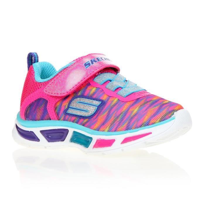SKECHERS Baskets Litebeams Colorburst Chaussures Enfant