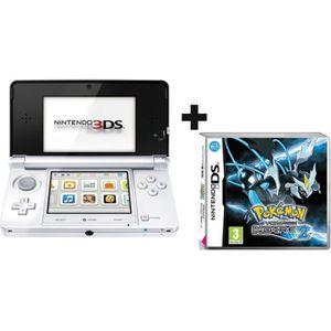 CONSOLE DS LITE - DSI 3DS BLANC ARCTIQUE + POKEMON VERSION NOIRE 2