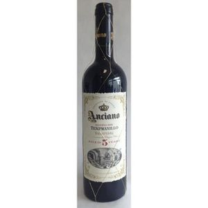 VIN ROUGE ANCIANO Tempranillo 5 ans Vin d'Espagne - Rouge75