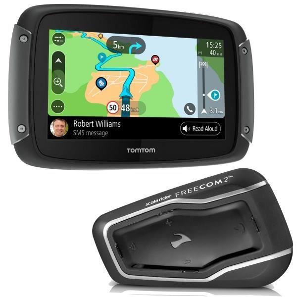 GPS AUTO TOMTOM GPS Moto Rider 550 Pro + intercom Freecom2