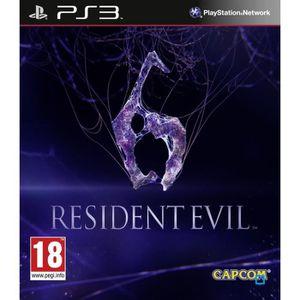 JEU PS3 Resident Evil 6  Jeu PS3