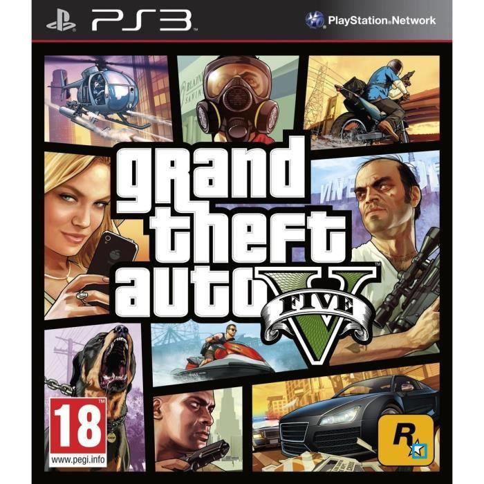 JEU PS3 GTA V Jeu PS3