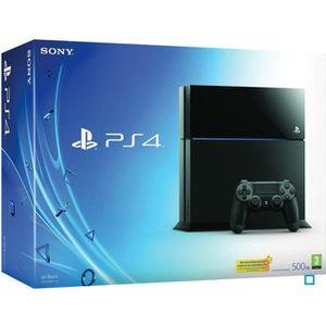 CONSOLE PS4 Console PS4 500 Go Noire