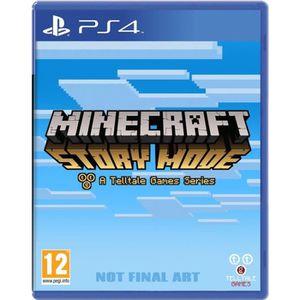JEU PS4 Minecraft : Story Mode Jeu PS4